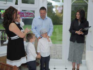 Baby naming ceremony