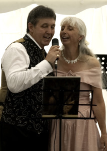 It's fine to sing at your own wedding