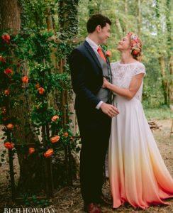 Woodland wedding, celebrant led wedding